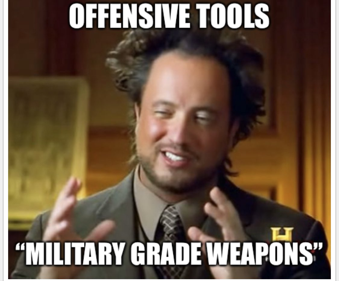 Offensive Tools Meme